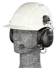 hard hat mount